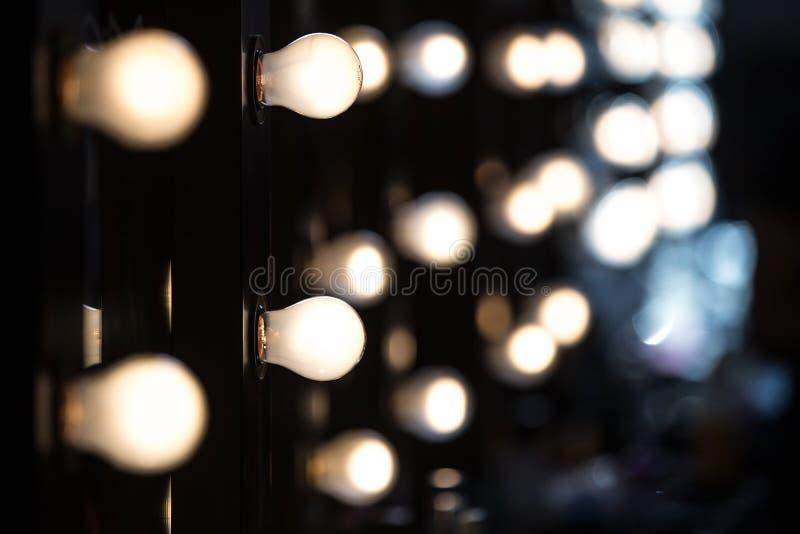 blå ton för show för modeexponeringsfotograf arkivbild