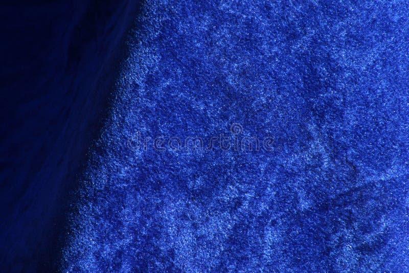 Download Blå tygtextur arkivfoto. Bild av krossat, djupt, veck, luddigt - 42584