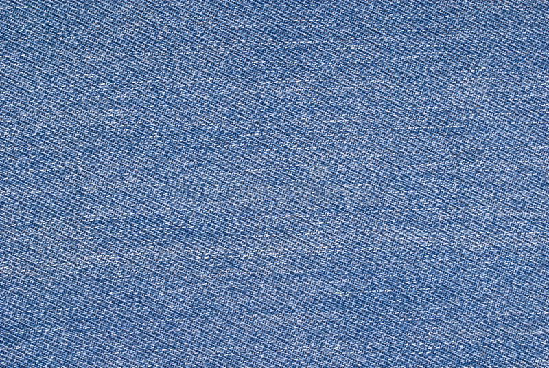 blå tygtextur arkivbild