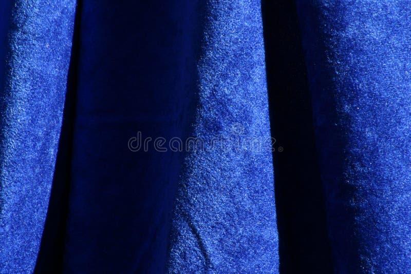 Download Blå tygtextursammet fotografering för bildbyråer. Bild av retro - 42591