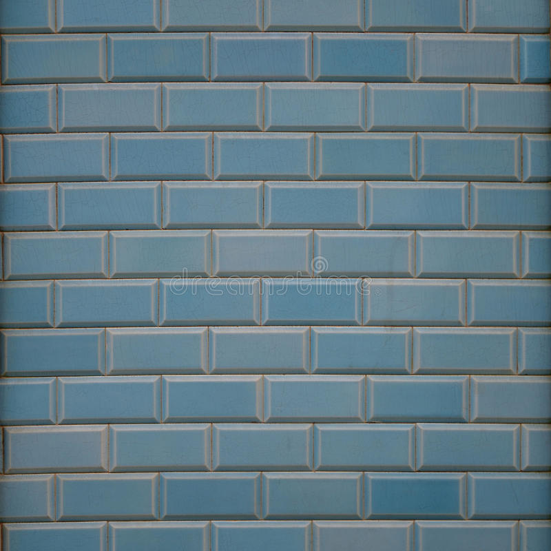 Blå vägg - fyrkant arkivfoton