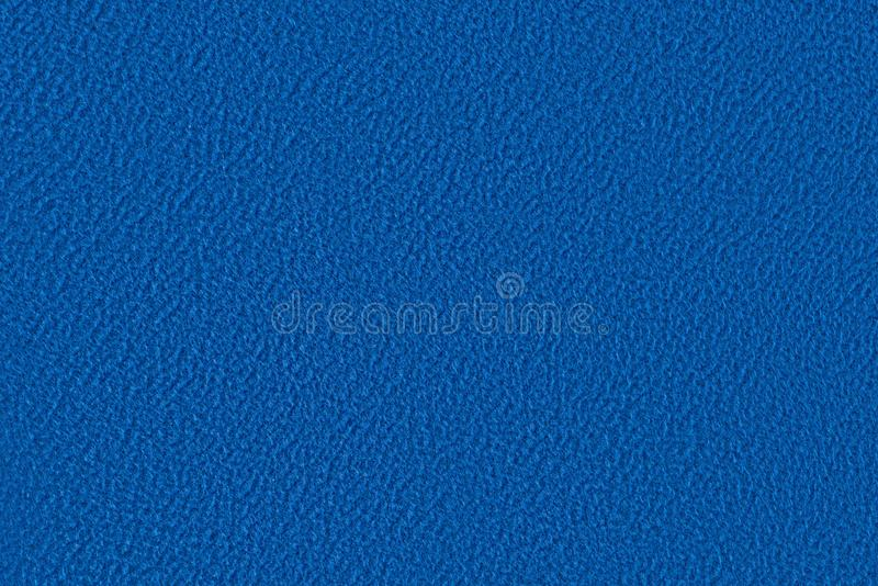 Blå velourtygtextur royaltyfri fotografi