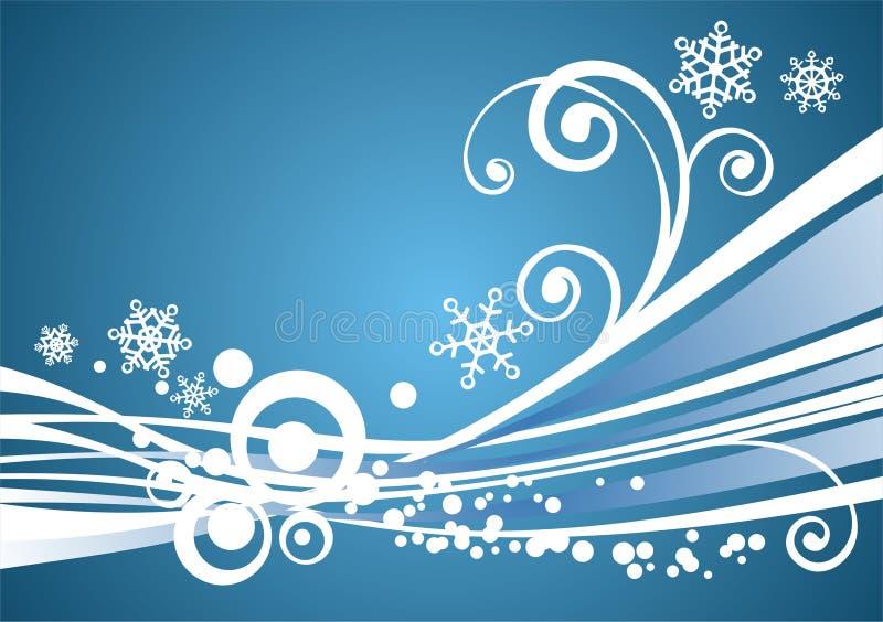 Download Blå vinter för bakgrund vektor illustrationer. Illustration av festligt - 3548993