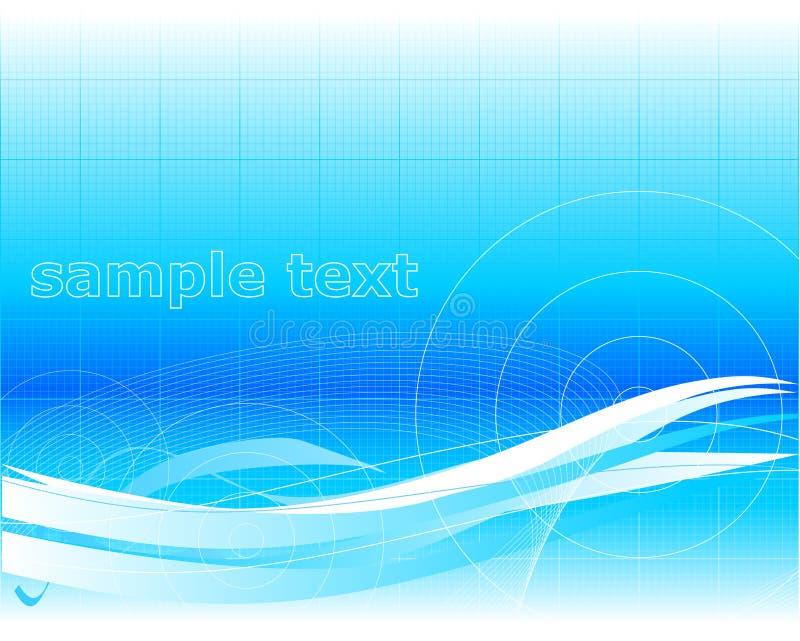 blå wallpaper vektor illustrationer