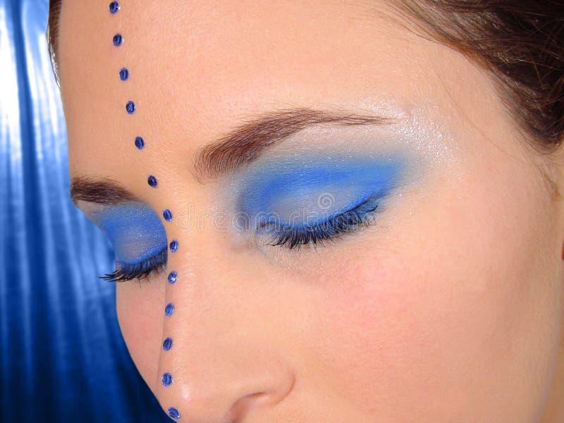 blåa ögon arkivfoton