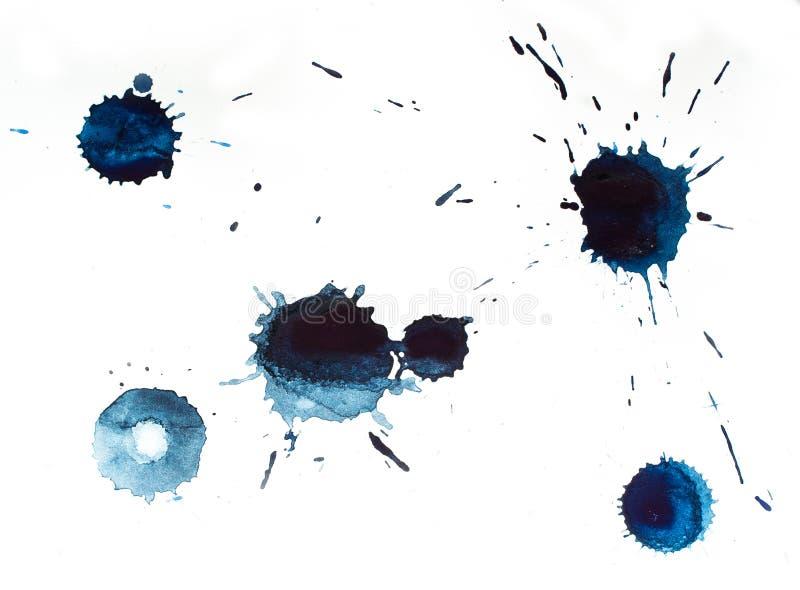Blåa blots arkivfoto