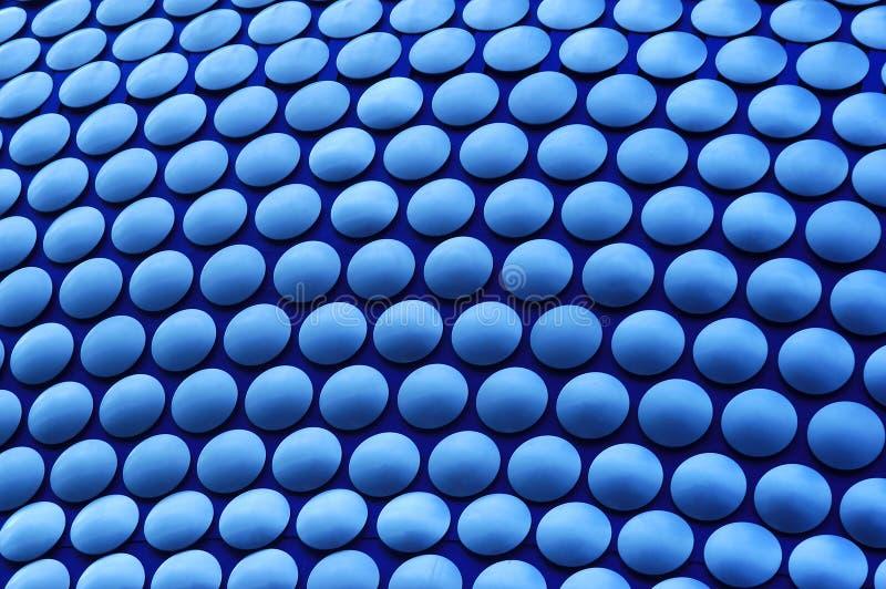 blåa cirklar royaltyfri bild