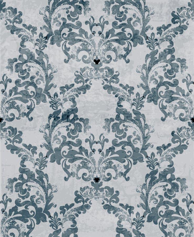 blåa färger royaltyfri illustrationer