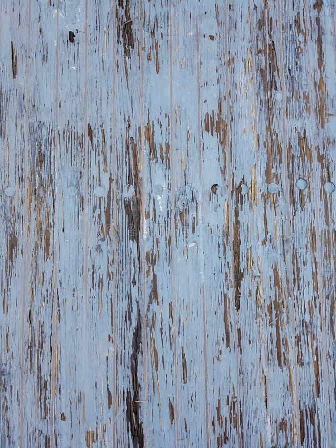 Blåa Gray Wood Texture Background royaltyfri bild