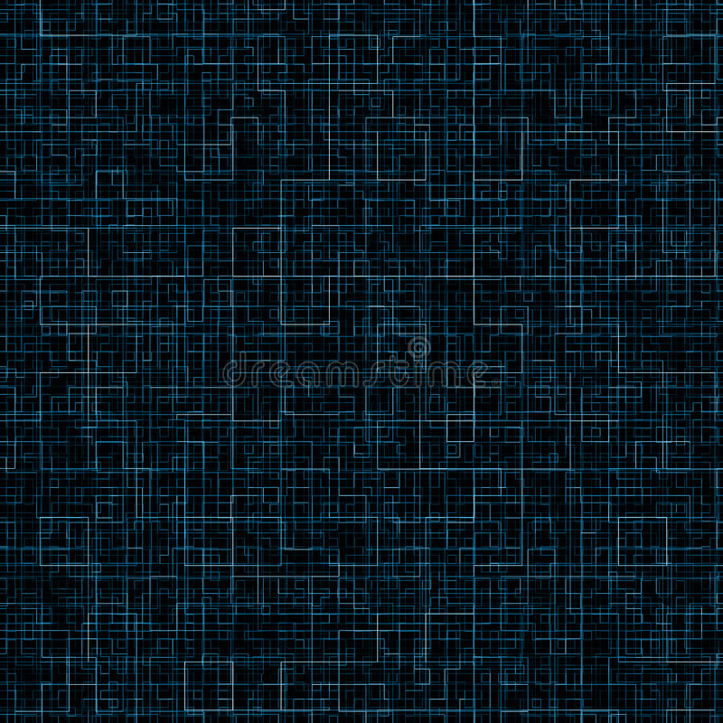 blåa kalla linjer arkivbild