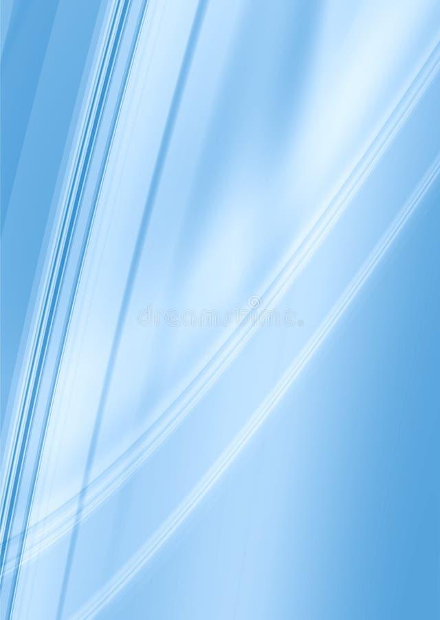 blåa ljusa smooth vektor illustrationer