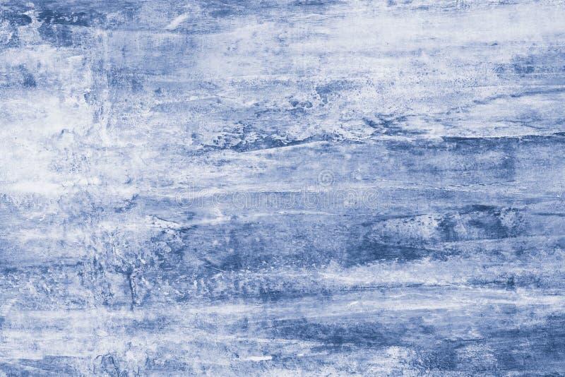 Blåa målarfärgfläckar på kanfas Abstrakt illustration med blåa fläckar på mjuk bakgrund Id?rik konstn?rlig bakgrund abstrakt patt vektor illustrationer