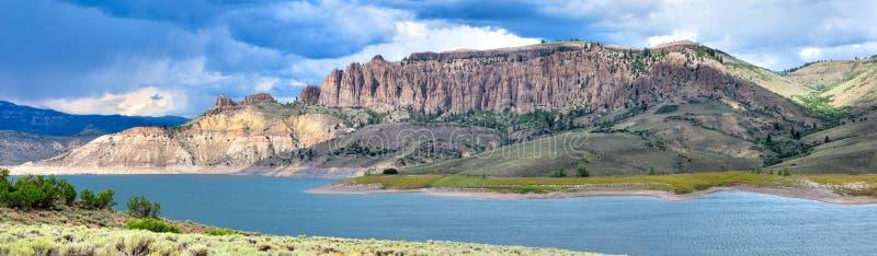 Blåa Mesa Reservoir arkivbilder