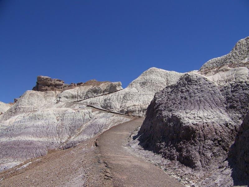 Blåa Mesa Trail 3 arkivfoton