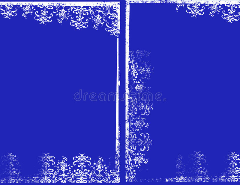 blåa ramar arkivbilder