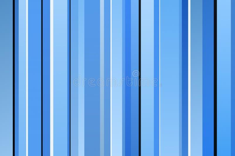blåa retro band stock illustrationer
