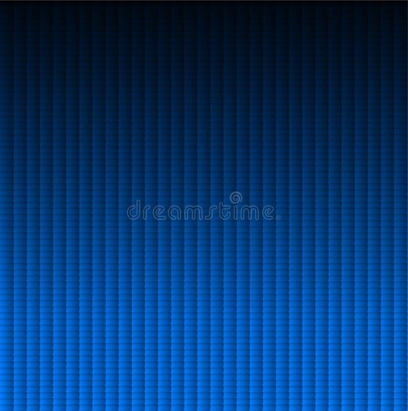 blåa texturtegelplattor stock illustrationer