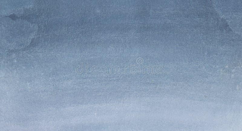 Blåaktig grå vattenfärgtextur vektor illustrationer