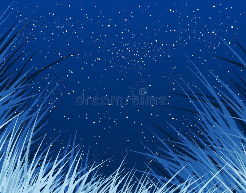 blågräs vektor illustrationer