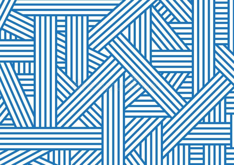 blålinjen vektor illustrationer