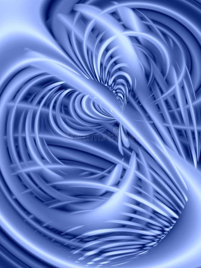 blålinjen texture wavy royaltyfri illustrationer