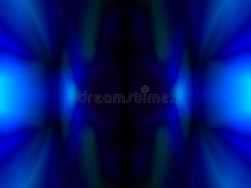 blått stock illustrationer