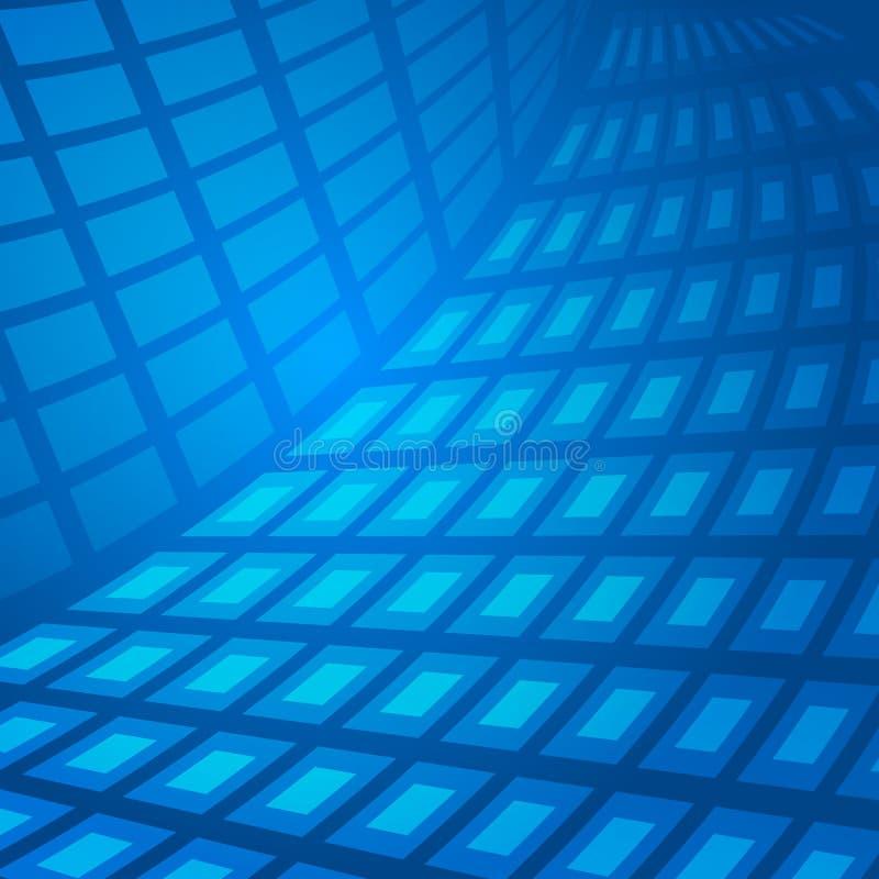 Blått-abstrakt begrepp vektor illustrationer