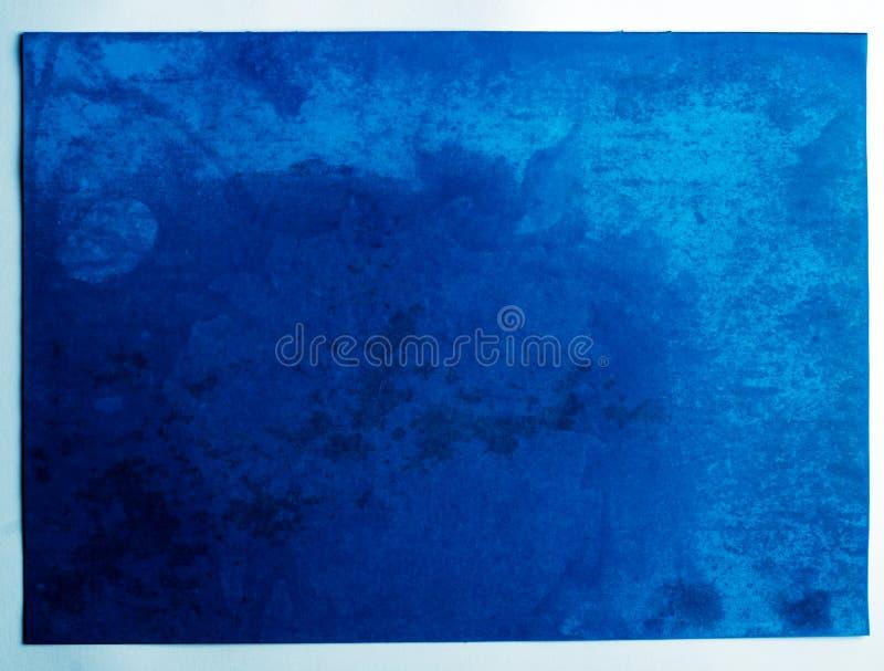blått ark royaltyfri fotografi