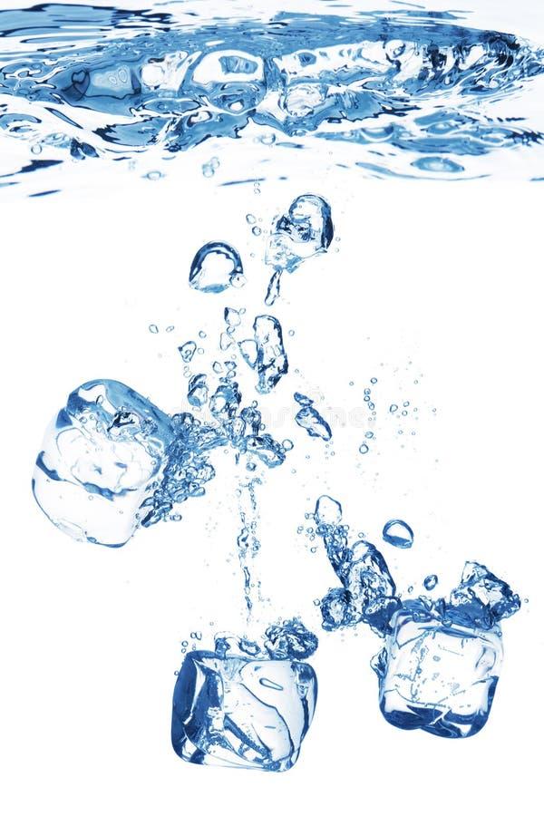 blått bubblavatten fotografering för bildbyråer
