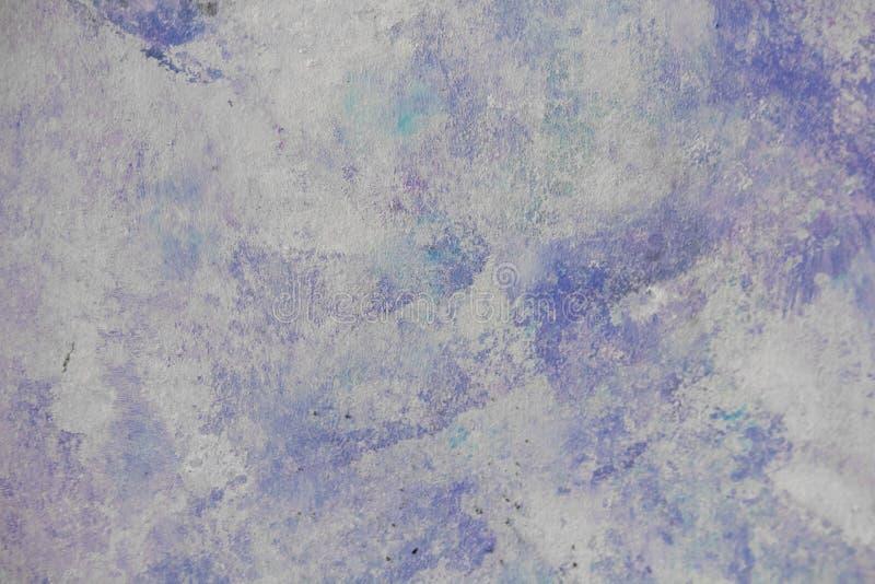 Blått färgad målad texturbakgrund royaltyfri foto