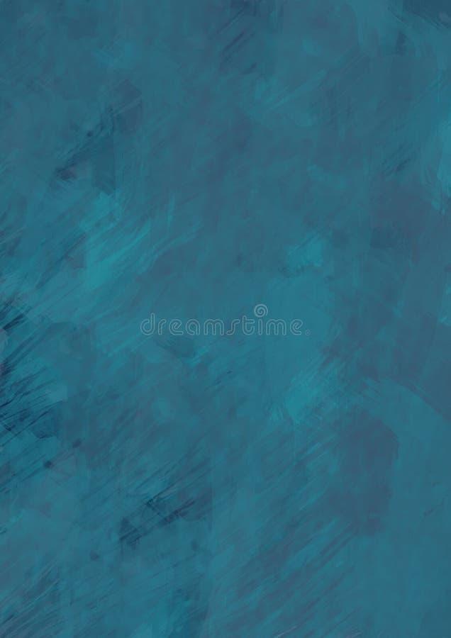 blått färgpulver royaltyfri bild