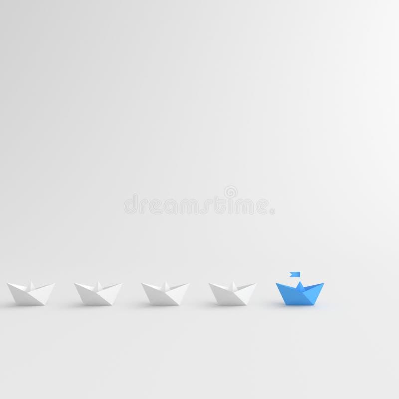 blått fartyg vektor illustrationer