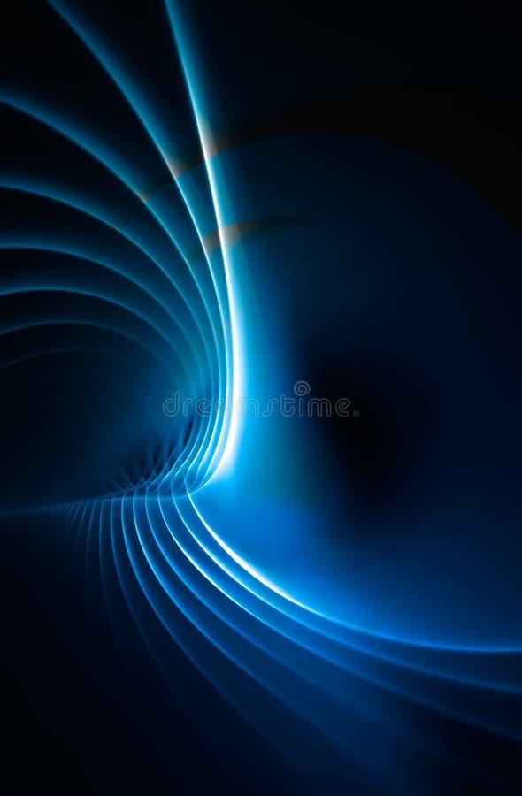 blått fractalplasma för bakgrund vektor illustrationer