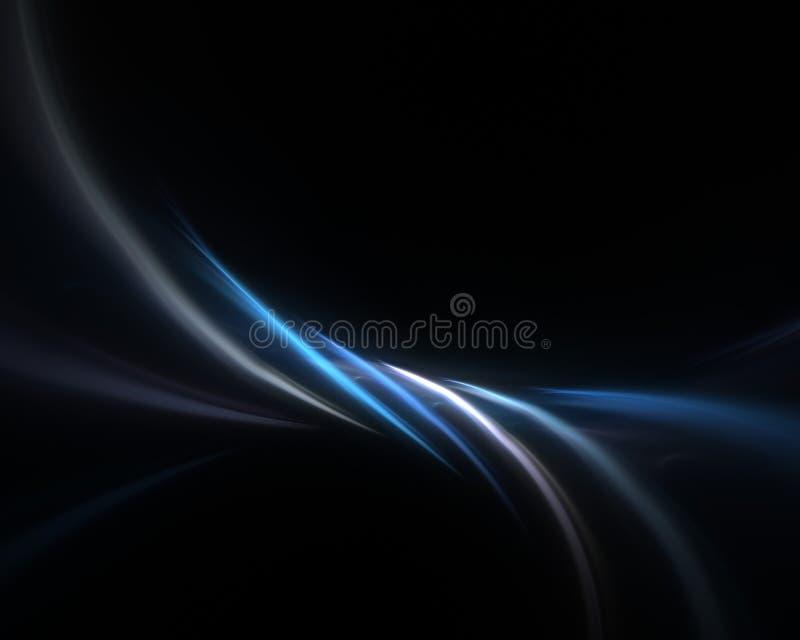 blått fractalplasma för bakgrund royaltyfri illustrationer