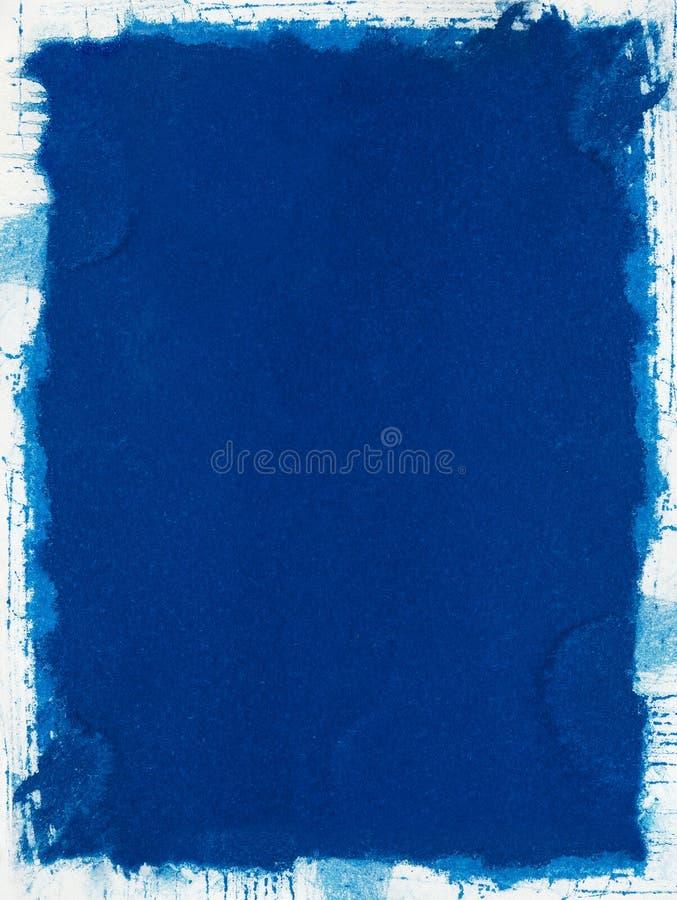 blått grungepapper fotografering för bildbyråer