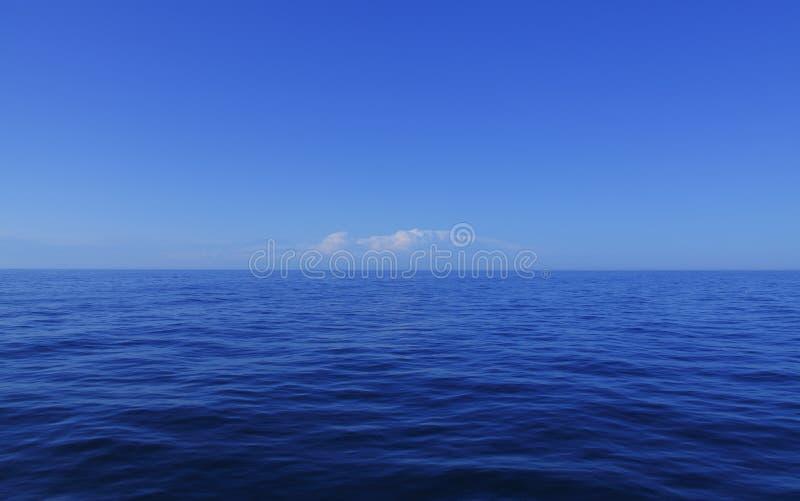 blått hav royaltyfri fotografi