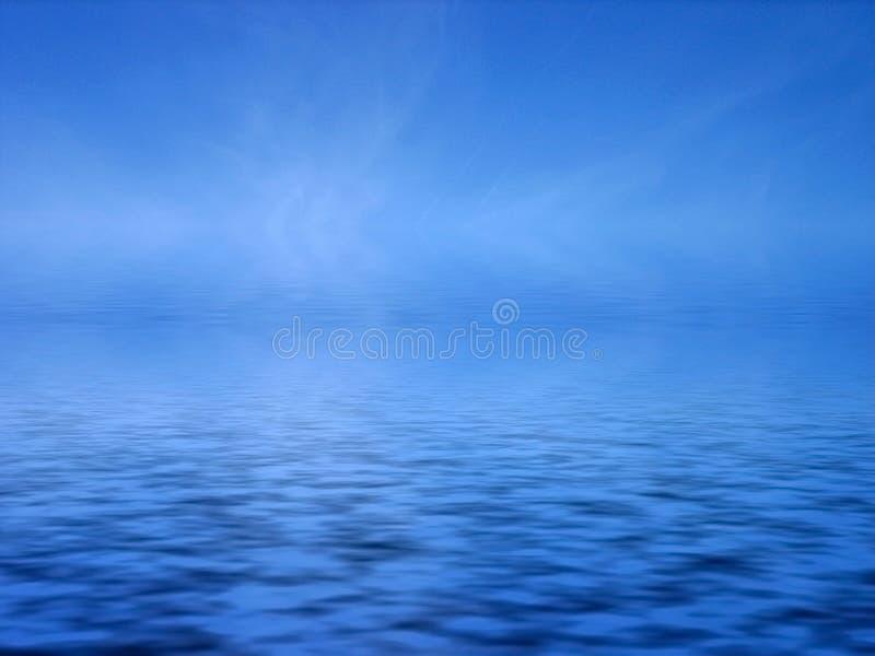 blått hav vektor illustrationer