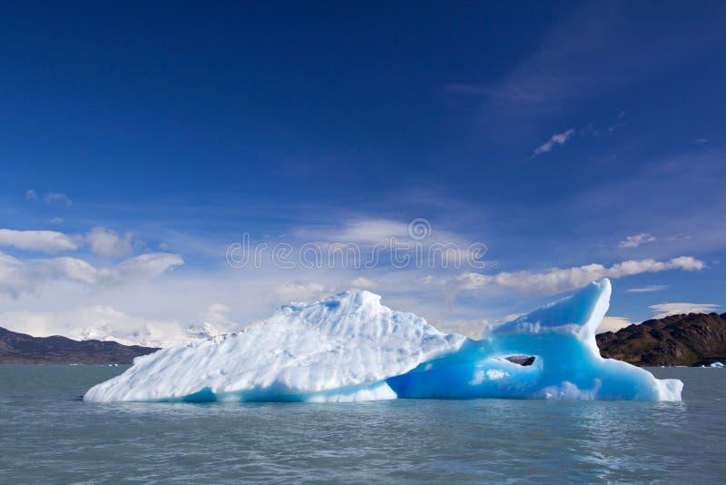 blått isberg fotografering för bildbyråer