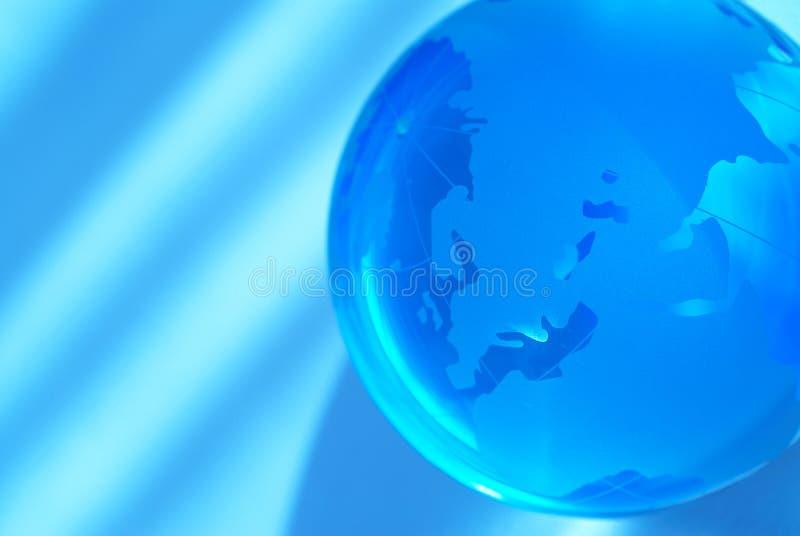 blått jordklot fotografering för bildbyråer