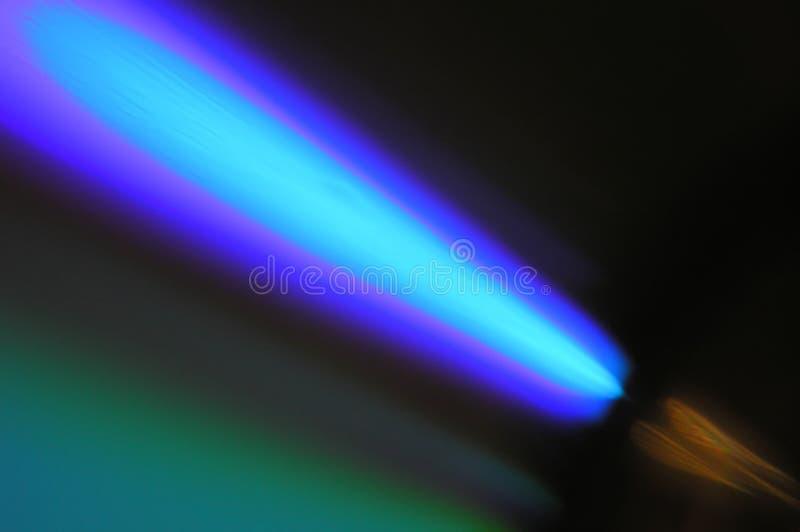 blått komet royaltyfria foton