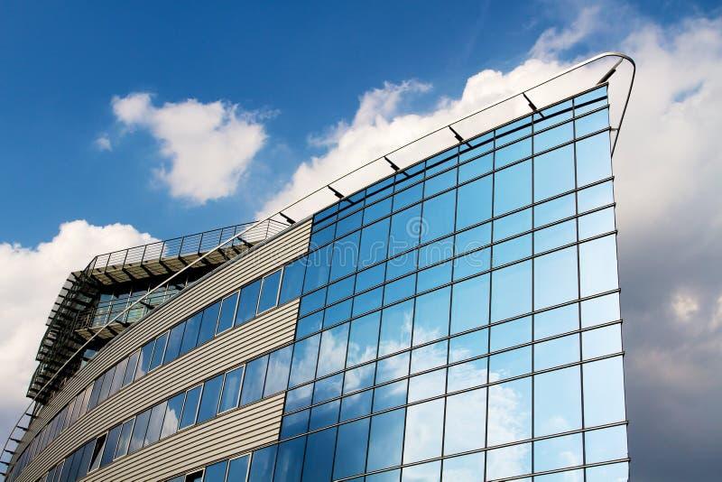blått kontor royaltyfri fotografi