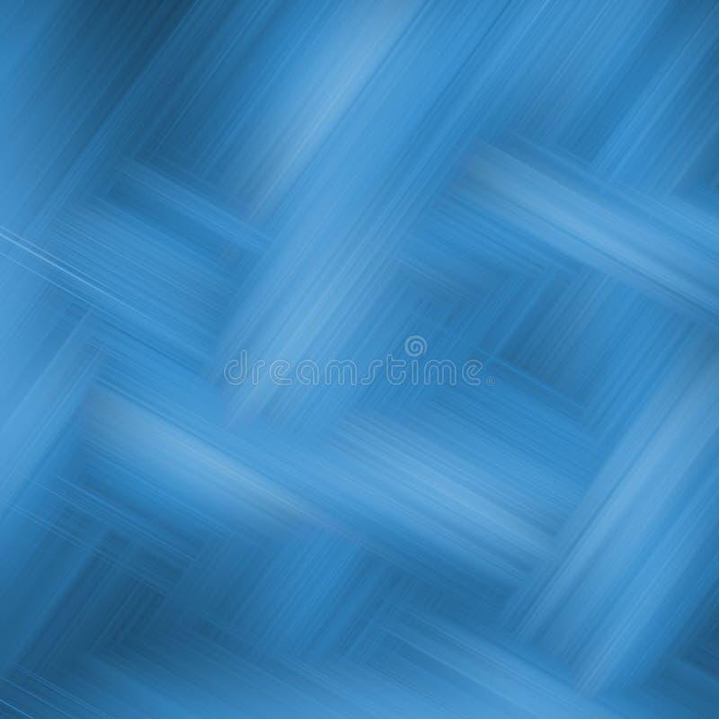 blått korsmönstrat royaltyfri illustrationer