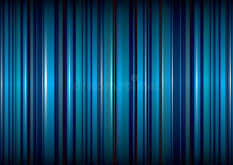 blått litet band vektor illustrationer