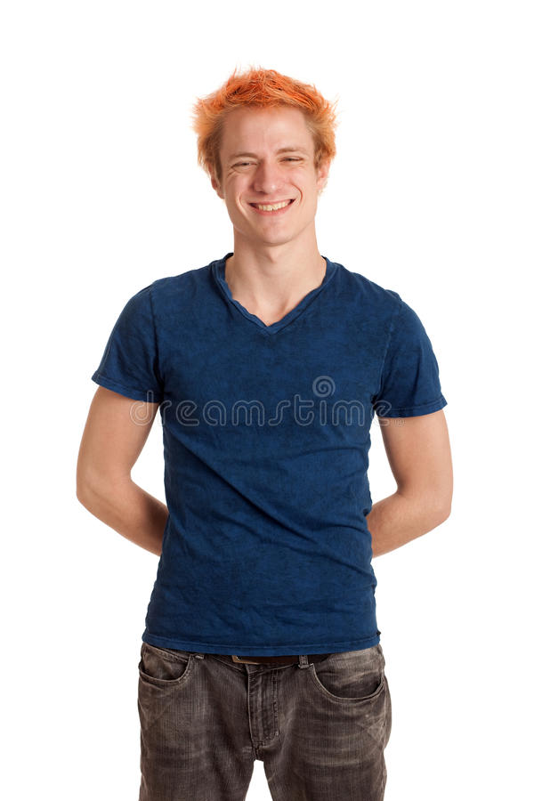 blått manskjortabarn arkivbilder