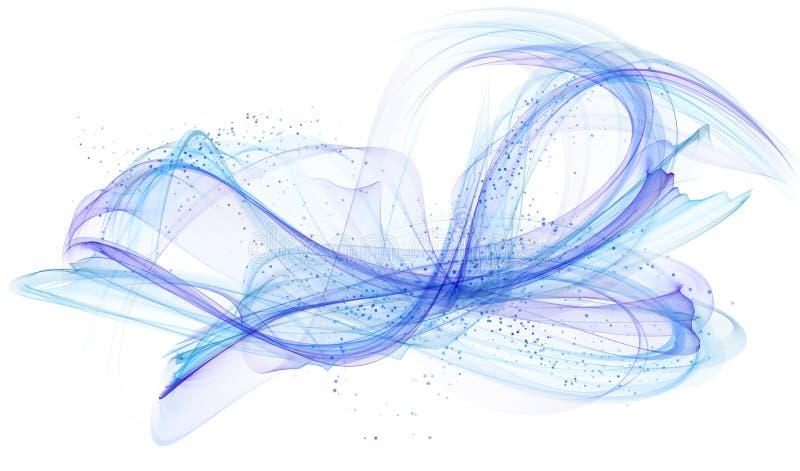 blått modernt för abstrakt bakgrund vektor illustrationer