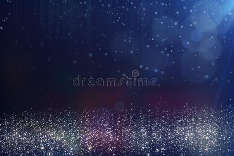 blått oskarpt för bakgrund royaltyfri illustrationer