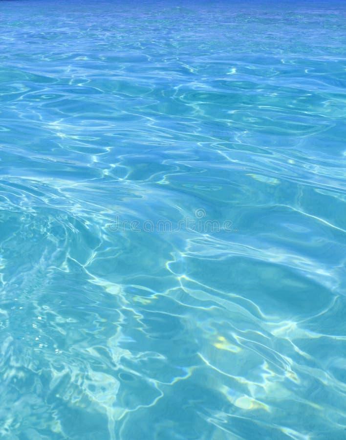 blått perfekt tropiskt turkosvatten för strand royaltyfri bild