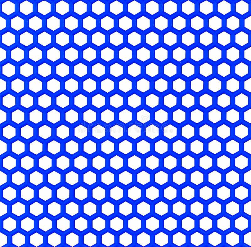 Blått plast- ingrepp arkivbild
