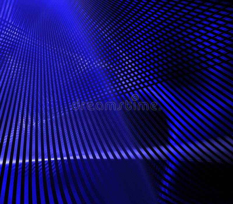 blått raster vektor illustrationer