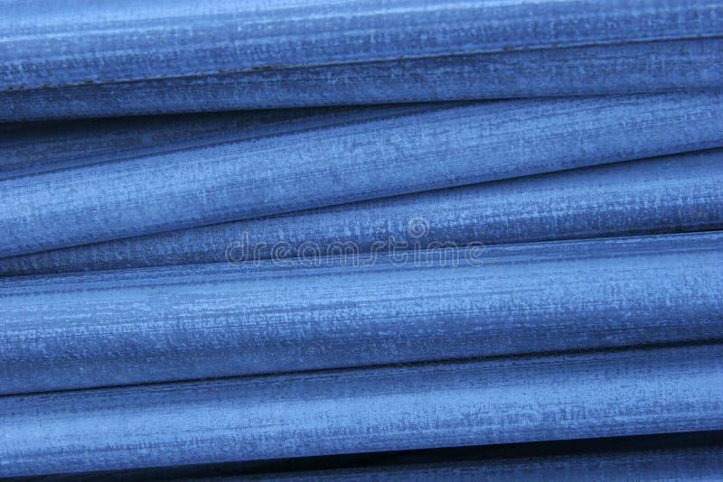 blått stål royaltyfria bilder